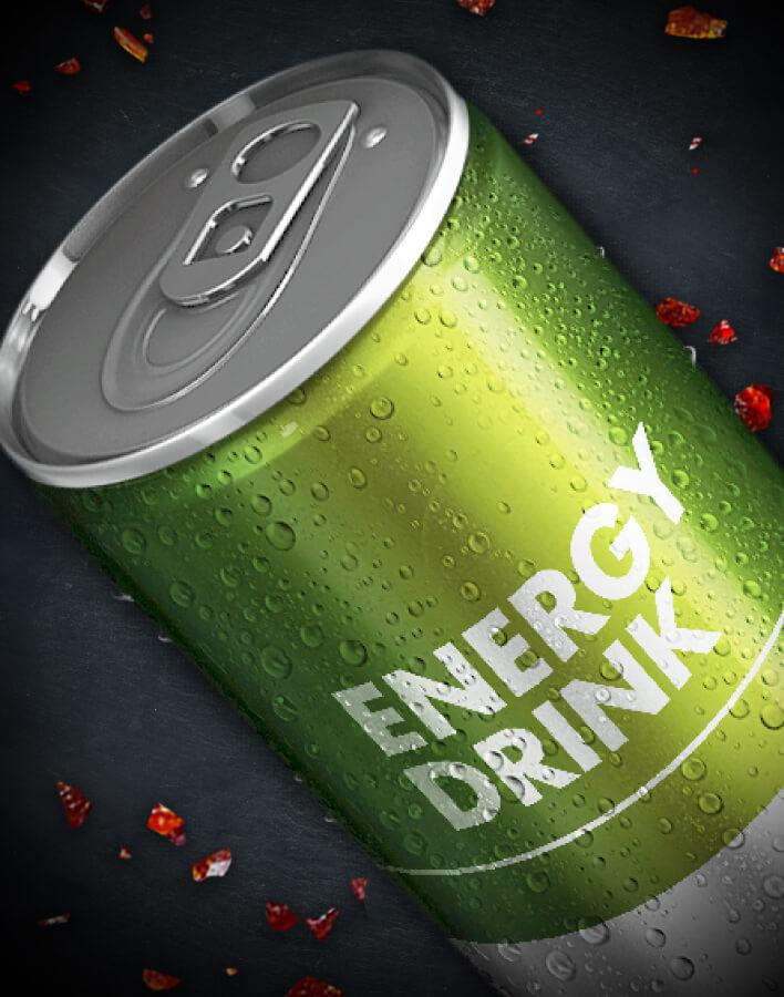 applications energy drinks
